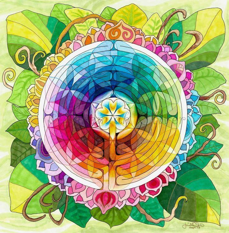 """""""A chave da desorientação é achar o seu centro. A chave do labirinto é achar o seu centro"""" O antigo símbolo do labirinto, sendo tanto uma espiral como um círculo envolvido em um, há mui…"""