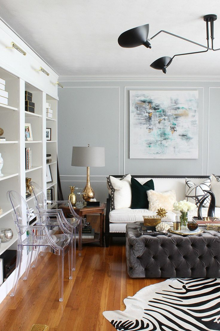 Fall Home Tour 2016 | Design blogger Kristin Cadwallader adds in warm wood tones and emerald green to welcome fall into her home | Bliss at Home