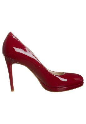 Buffalo - Bruidsschoenen - patent leather red ferrari