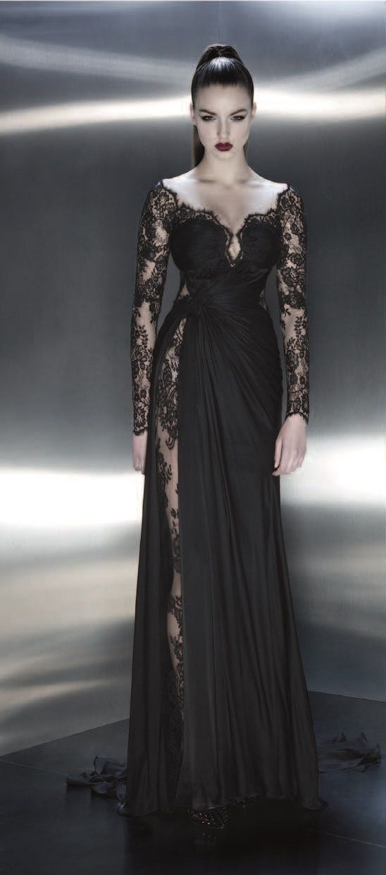 O this is what I would wear if I were a vampire!