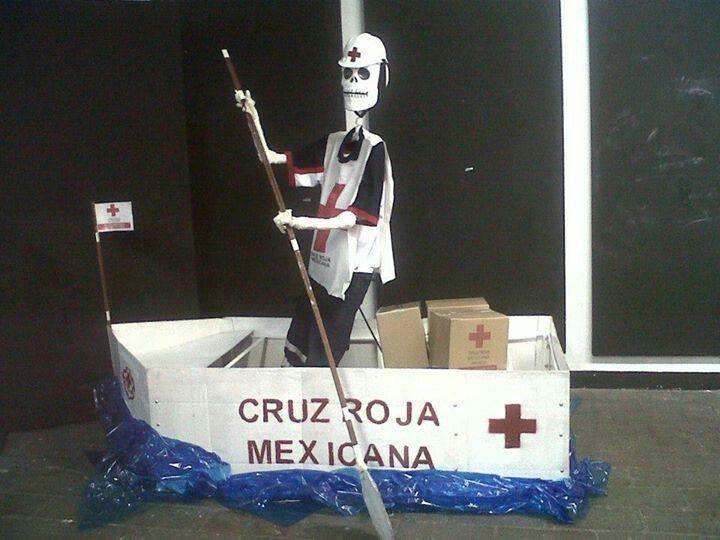 Cruz Roja...