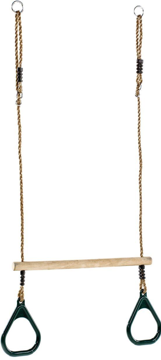 KBT | Trapeze met kunststof ringen | groen | NuBuiten - 13€ gratis verzending vanaf 100€