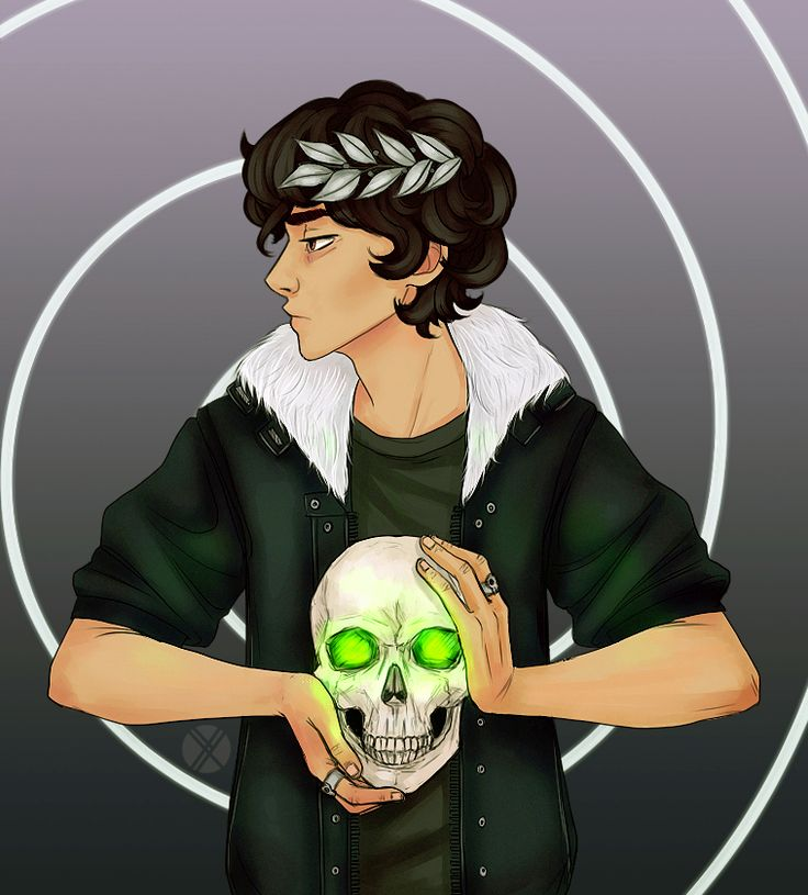 Nico di Angelo | art by oxcenia<<I'm gonna do a redraw of this and hopefully use it as binder decor :)