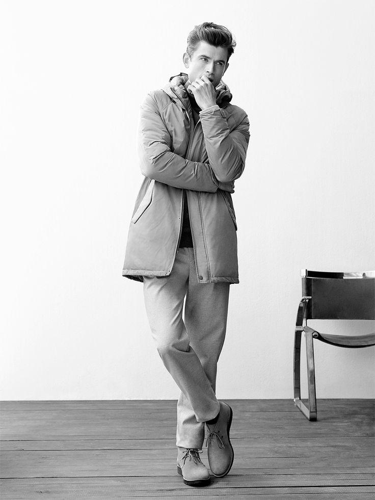 Nuevos abrigos y chaquetas para hombre – abrigo plumas – Invierno 2017 - Adolfo…