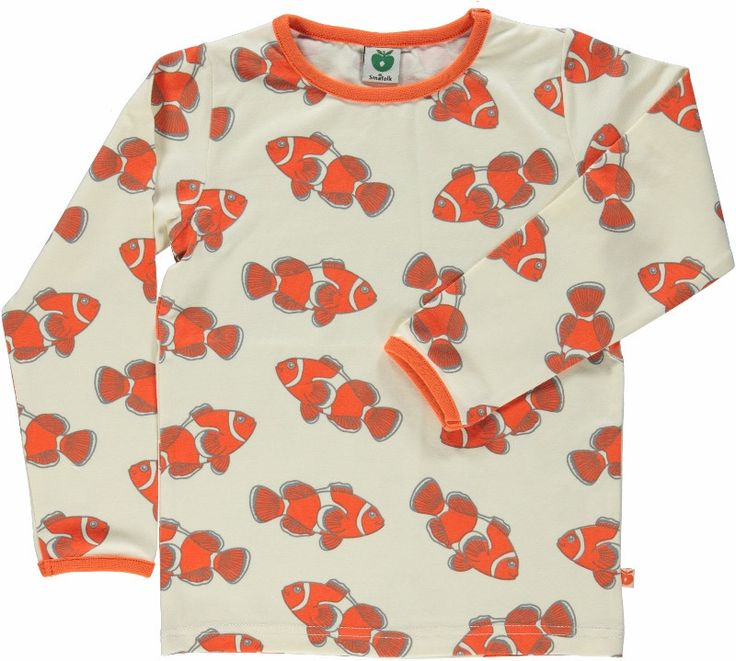 Smafolk's bright orange clown fishes are just perfect for Nemo fans and anyone wanting to go fishing.  OEKO-tex standard - there are no nasties in the dyes and