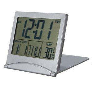 Bureauklok met temperatuur weergave