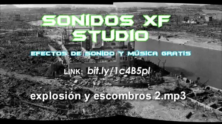 Efectos de sonido gratis - Explosiones y cohetes