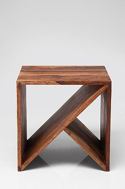 Zig Zag Cubed Side Table