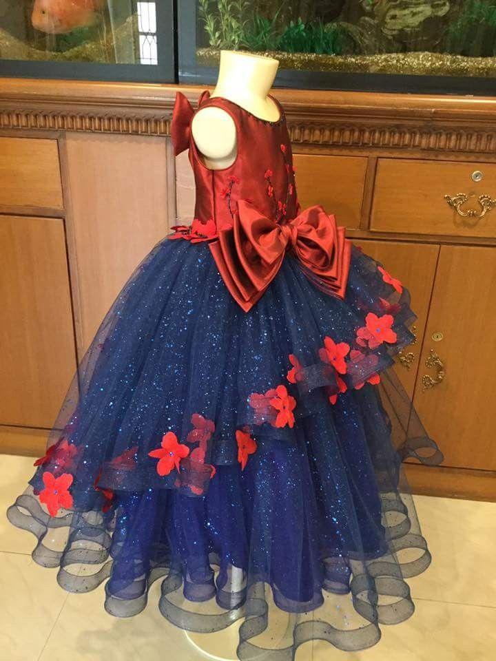 1f3041868 For small girls | Ğířľś Fáśhíôń | Kids gown, Kids party wear, Baby girl  party dresses