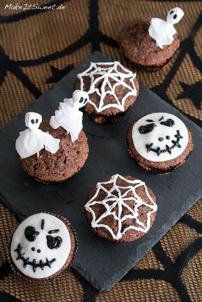 Die besten 25 halloween spinne ideen auf pinterest halloween spinne dekorationen halloween - Halloween muffins deko ...