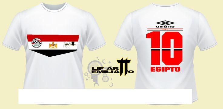 Camiseta Egipto Diseño exclusivo de @LifArtEmilianitto