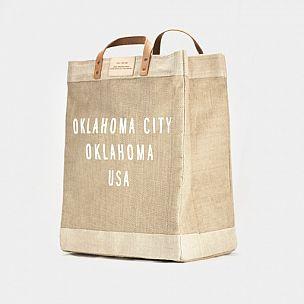 Oklahoma City Market Bag, Apolis + Shop Good