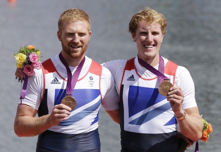William Satch and George Nash  : BRONZE - Men's Rowing Pair