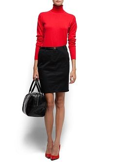 MANGO - Outlet - PROMOTION - Belted straight-cut skirt $17.99