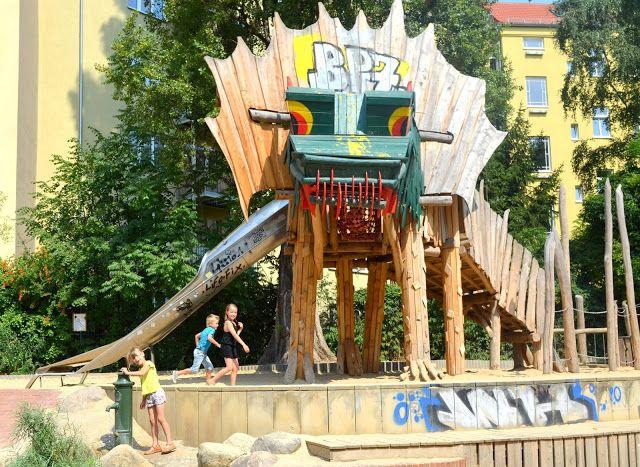 De speeltuinen in Berlijn