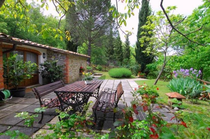 Tuscany Farm House Garden Beautiful Gardens Pinterest