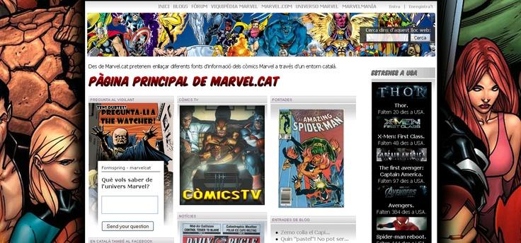 Marvel.cat - Xarxa social per a fans de Marvel.