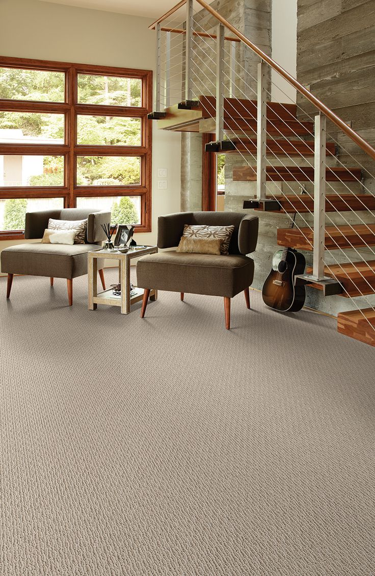 Sleek And Slim Lines Are A Hallmark Of Modern Contemporary Design And If You Re Worried About A Damp Basement Not Mixing Well With Car Hotel Carpet Room Decor
