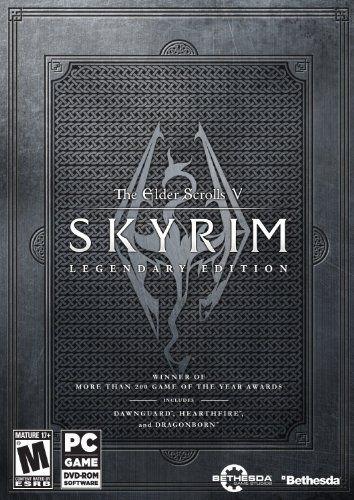 Amazon.com: The Elder Scrolls V: Skyrim Legendary Edition: Pc: Video Games