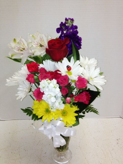 Happy, Happy Birthday flowers from Roadrunner Florist Basket Express