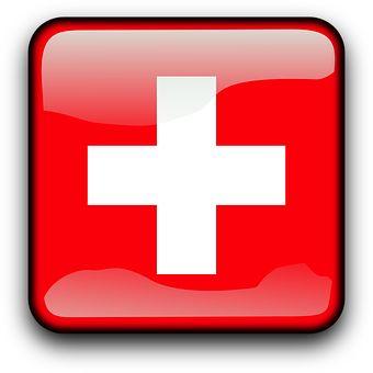 Schweiz, Schweizer, Flagge, Land