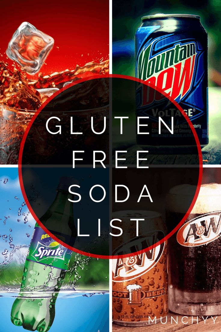 Did you know that some popular sodas actually contain gluten? Thankfully, the number of gluten free sodas (or gluten free pop) far outweighs the rest.