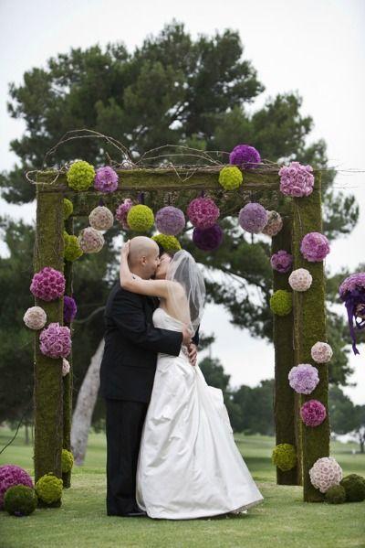 Top 6 Wedding Themes - Whimsical Wedding Canopy - mazelmoments.com