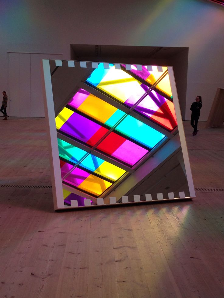 Exhibition at The Baltic in Gateshead England  by Daniel Buren