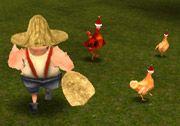 3D Macera Oyunları arasında yer alan 3D Tavuk Çiftliği orjinal ismi ile (Chicken Run 3D) olan bu 3 boyutlu macera oyununda çiftlikte bulunan bütün tavukları yakalamalısınız ve onları torbanın içine sokmalısınız.