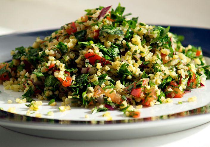 the secret of terrific tabbouleh http://www.manoosh.com.au/manoosh-plating-best-lebanese-food-sydney/