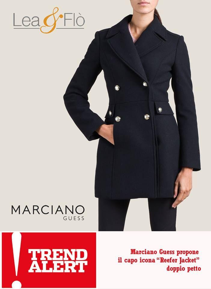 5 ultimissime tendenze di stagione #AW1516!  I #capispalla: dal mondo dei marinai, un capo icona, il #ReeferJacket color blue navy e a doppio petto!  #GUESS #MARCIANO