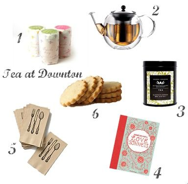 Downton Abbey inspired gifts