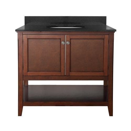 Foremost AUV3622 Auguste 36 Vanity Cabinet Only (White Finish)