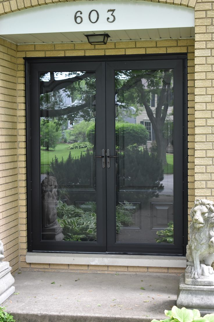 Casco Full View Double Storm Doors. Manufactured In South