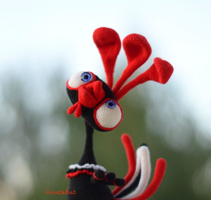 Петушок - миниатюрки - Галерея - Форум почитателей амигуруми (вязаной игрушки)