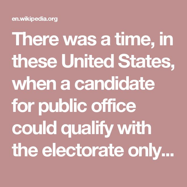"""There was a time, in these United States, when a candidate for public office could qualify with the electorate only by fixing his birthplace in or near the """"log cabin."""" He may have acquired a competence, or even a fortune, since then, but it was in the tradition that he must have been born of poor parents and made his way up the ladder by sheer ability, self-reliance, and perseverance in the face of hardship. In short, he had to be """"self made."""" The so-called Protestant Ethic then prevalent…"""
