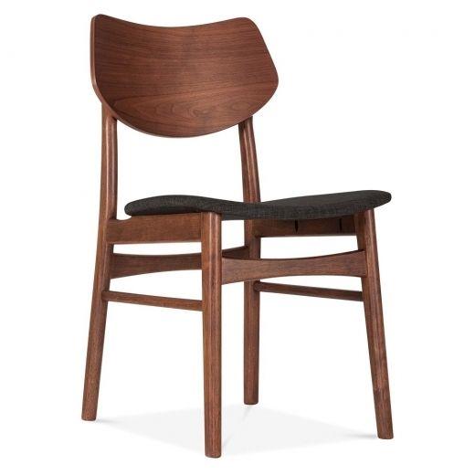Cult Living Flynt Dining Chair In Dark Grey   Cult Furniture UK