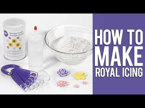 How to make Wilton Royal Icing - YouTube