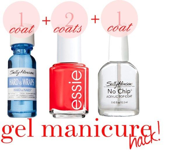 Perfect DIY Gel Manicure/follow up says lasted long but not as long as hoping