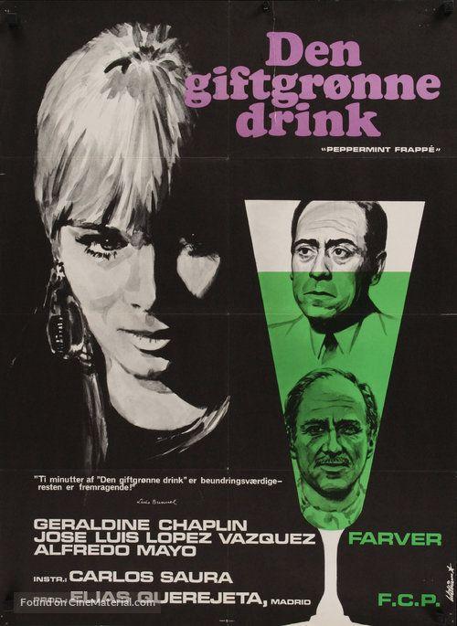 Peppermint Frappé - Danish Movie Poster