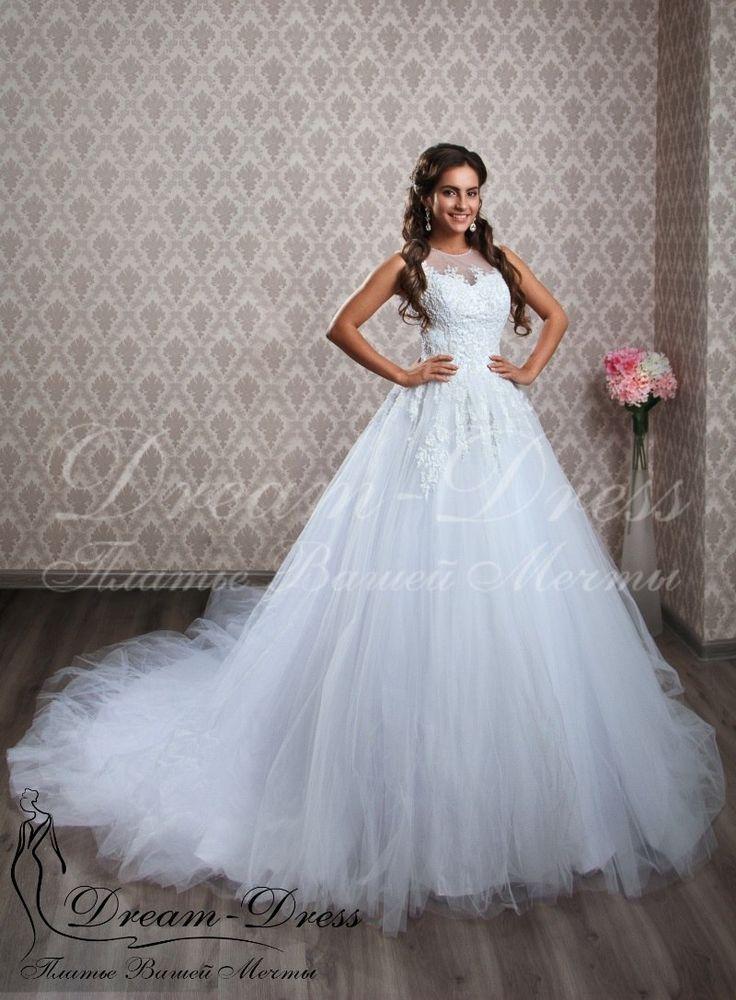Jade / Пышное свадебное платье, кружево на корсете вручную расшито бисером, пайетками и жемчужинами. В наличии изделие в белом цвете, размер 42-44-46, на спине молния. На заказ возможен любой цвет и размер.