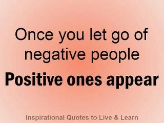 Ummmm Soooooo True! I am so thankful for all the positive normal people.....now that crazy is gone!