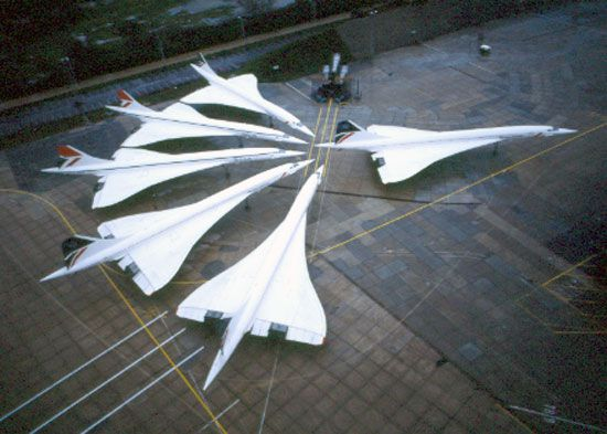 "Concorde: British Airways ~ ""Family Portrait."""