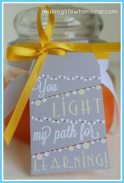 Light up her evening - Thoughtful Teacher Appreciation Day Ideas That Won't Break the Bank - Photos