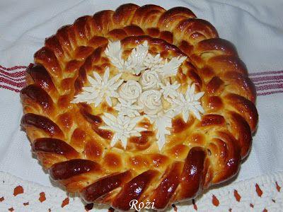 Rozi Erdélyi konyhája: Fahéjas tekercs, kalács formájában