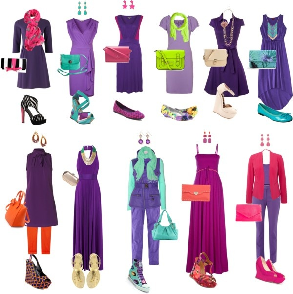 """""""Styling Purple"""" by dana-forlano on Polyvore"""