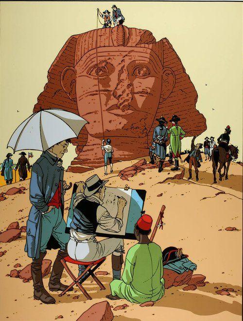 Arno en Egypte Juillard