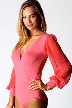 subtle cleavage..: Subtle Cleavage, Wraps Bodysuit, Sleeve Wraps
