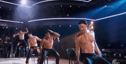 New party member! Tags: abc dancing with the stars dwts chippendales