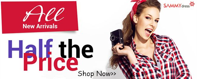 New Arrivals! Enjoy Half Prices for All New Arrivals at #sammydress Time to Renew Your #Wardrobe http://www.planetgoldilocks.com/womens_clothing #womensfashion  at #planetgoldilocksfashions #fashion